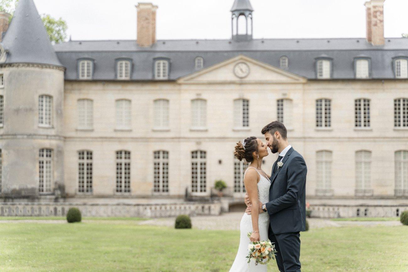 Découverte de la mariée à Chantilly dans l'Oise